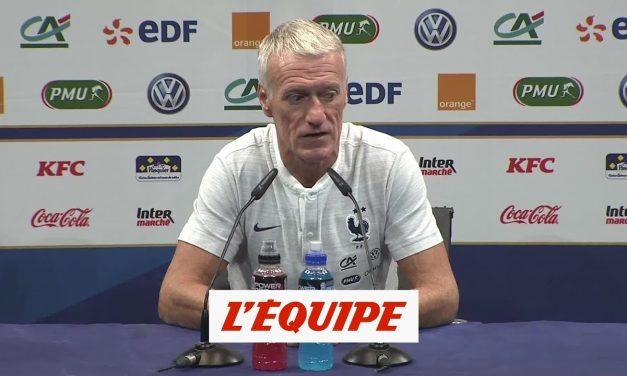 [Équipe de France] Didier Deschamps : «Les calendriers sont démentiels !»