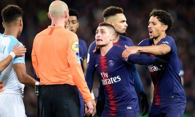 [Ligue 1] PSG : Verratti peste contre l'arbitrage français !