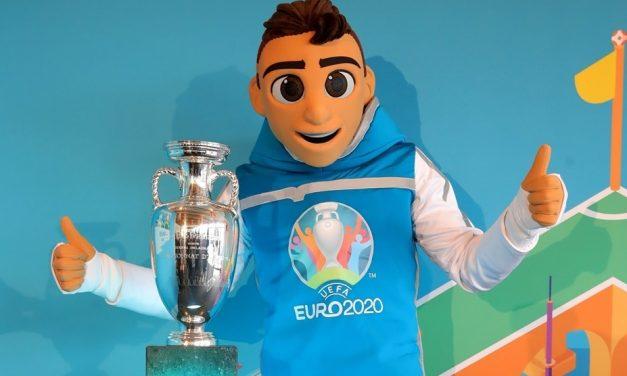 Rencontre avec Skillzy, la mascotte officielle de l'Euro 2020