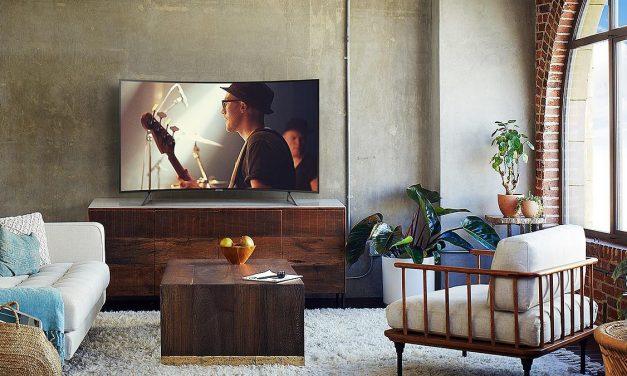 Quelle télévision avec écran incurvé pour mater l'Euro 2020?