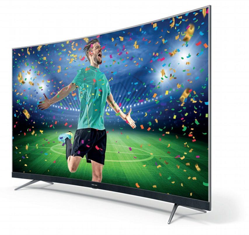 TV à écran incurvé Thomson 55UD6676